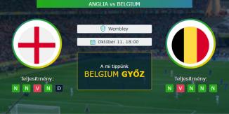 Anglia-Belgium 11.10.2020 Tippek Nemzetek Ligája