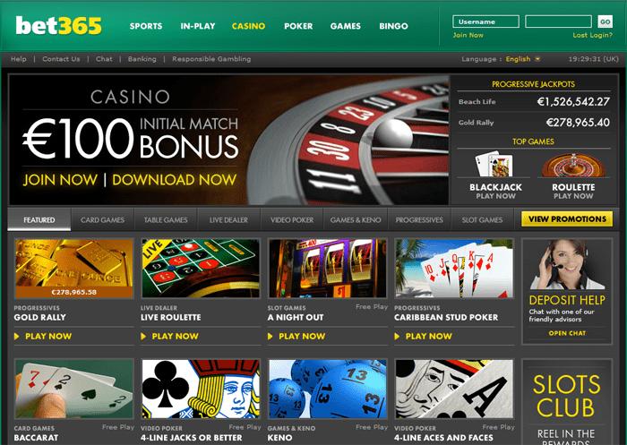 casino 365