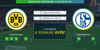 Borussia Dortmund - Schalke 24.10.2020 Tippek Bundesliga