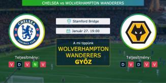 Chelsea – Wolverhampton Wanderers 27.01.2021 Tippek Premier League
