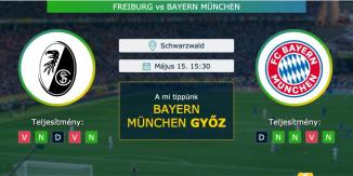 Freiburg – Bayern München 15.05.2021 Tippek Bundesliga