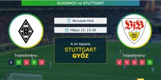 Gladbach – Stuttgart 15.05.2021 Tippek Bundesliga