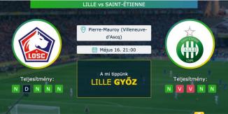 Lille – Saint-Étienne 16.05.2021 Tippek Ligue 1