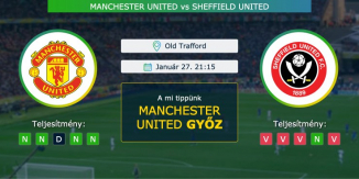 Manchester United – Sheffield United 27.01.2021 Tippek Premier League