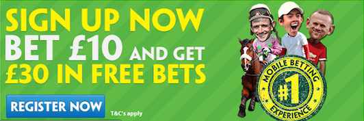 paddy power 30 free bet