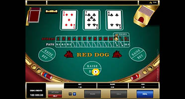 Red Dog Poker Demo