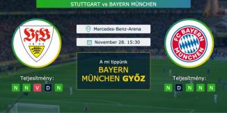 Stuttgart – Bayern München 28.11.2020 Tippek Bundesliga